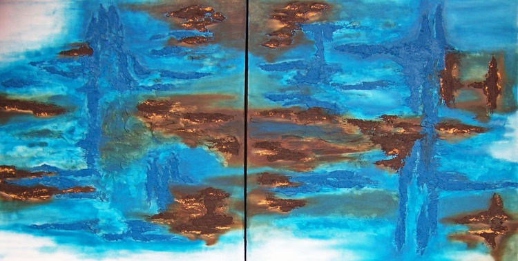 Free My Soul IV---diptych - Image 0