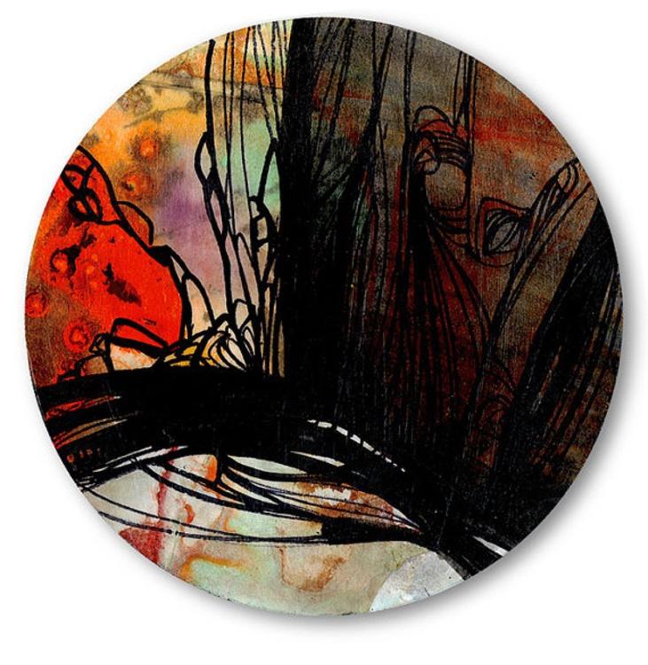 Circle Abstraction Series . No. 13 - Image 0