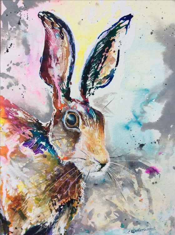 Ink hare -