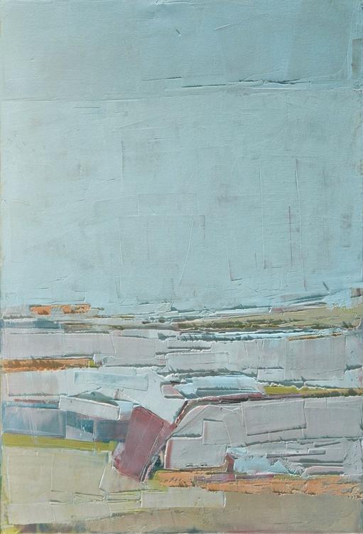 """Oil painting """"Landscape 64"""" 50/70cm. - Image 0"""