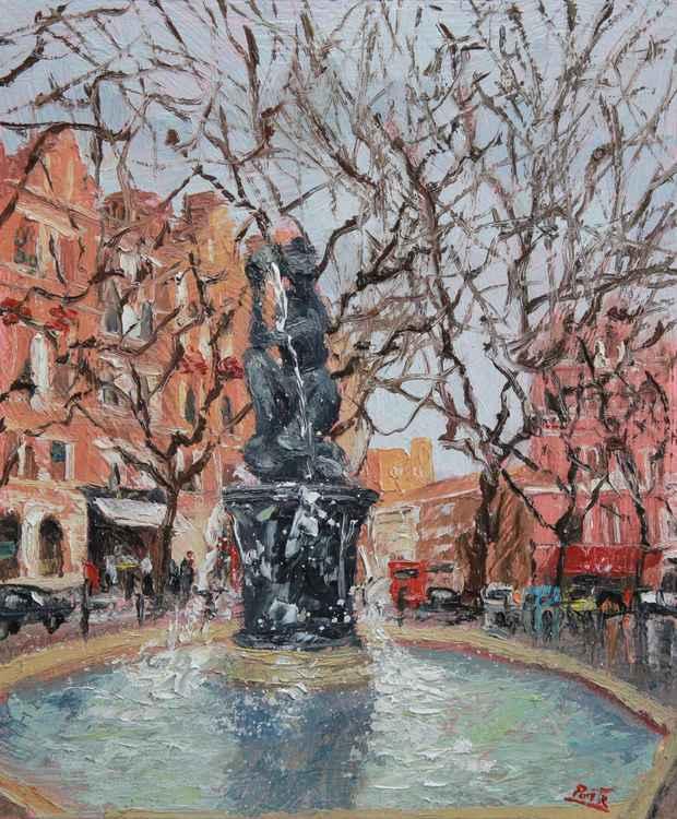 The Venus fountain, Sloane Square London