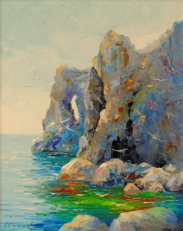Cliffs by the sea - Image 0