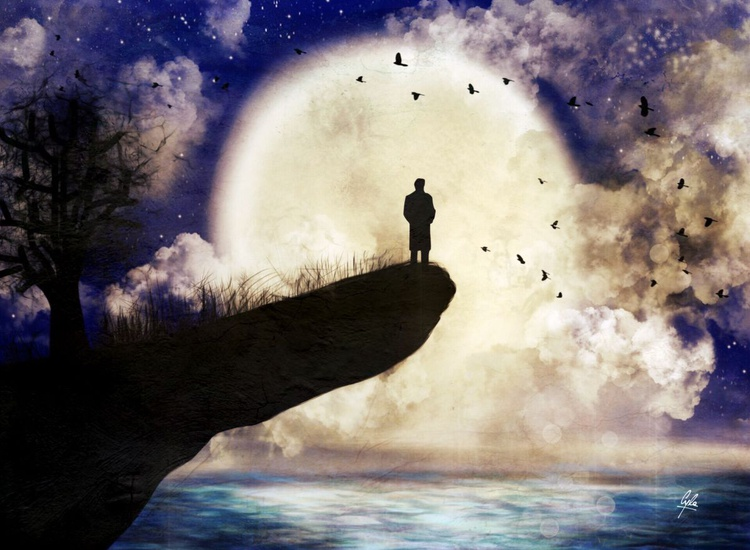 The Man and the Moon - Image 0