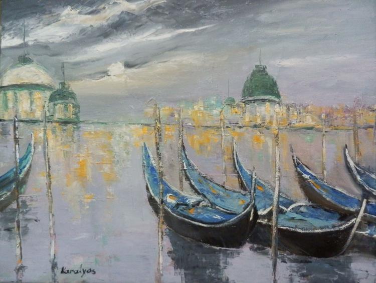 Venice under the moonlight - Image 0
