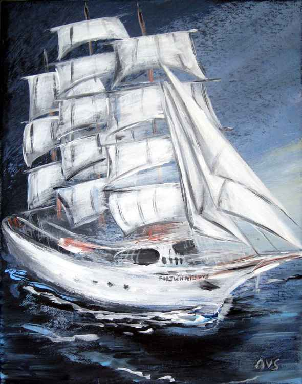 Fortunate. Sailing Ship