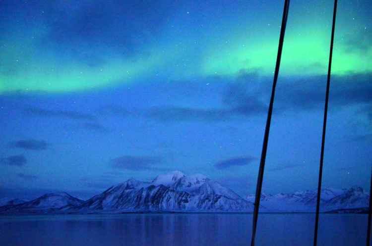Northern Lights above Svalbard -