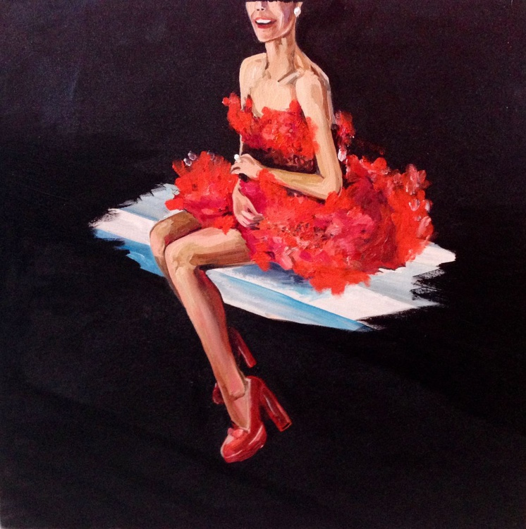 The red dress - Image 0