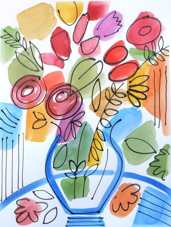 The Blue Vase - Image 0