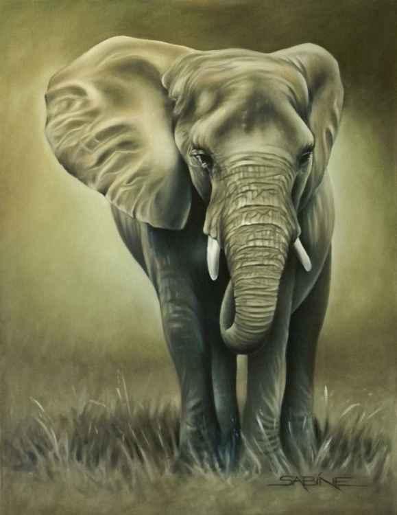"""""""Indlovu"""" (elephant)"""