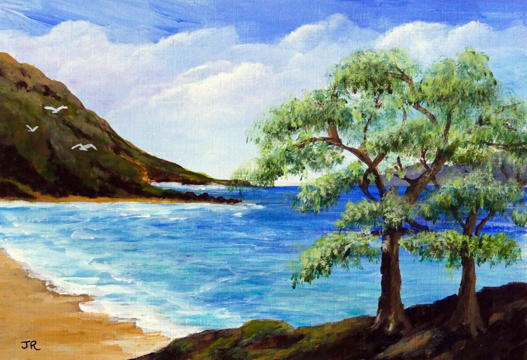 Trees by the Beach - Image 0