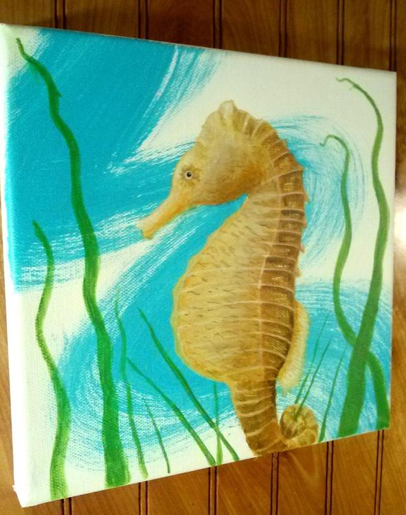 Splash Series #2: Seahorse - Image 0