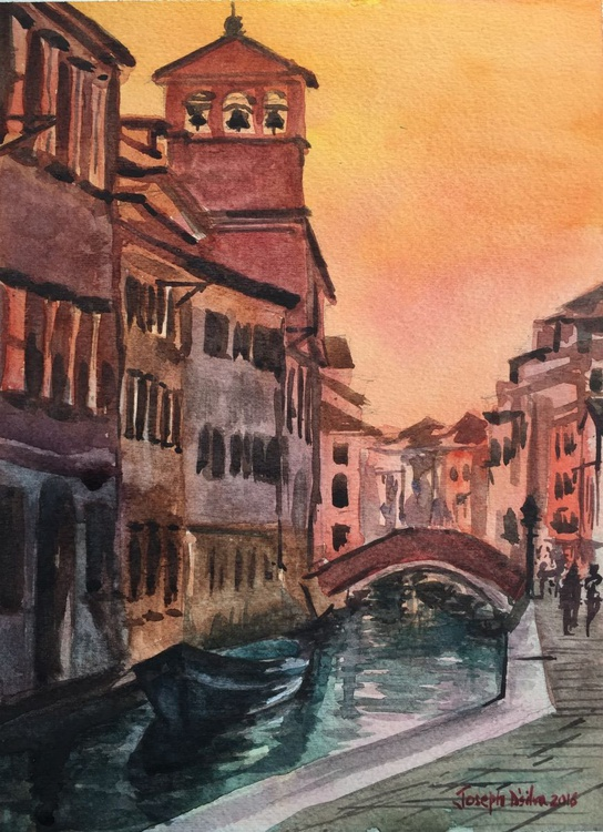 Venice at dusk - Image 0