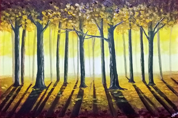 Light Through The Forest - Image 0