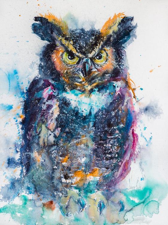 Great horned owl II. - Image 0