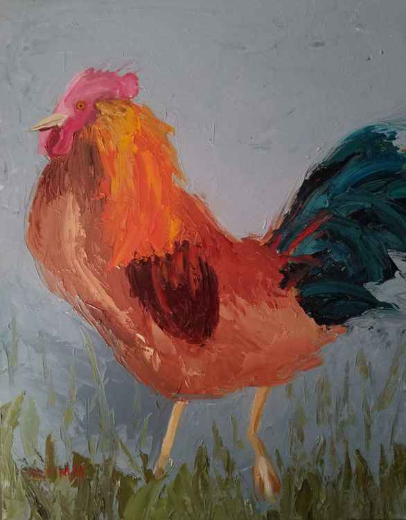Abstract Rooster -