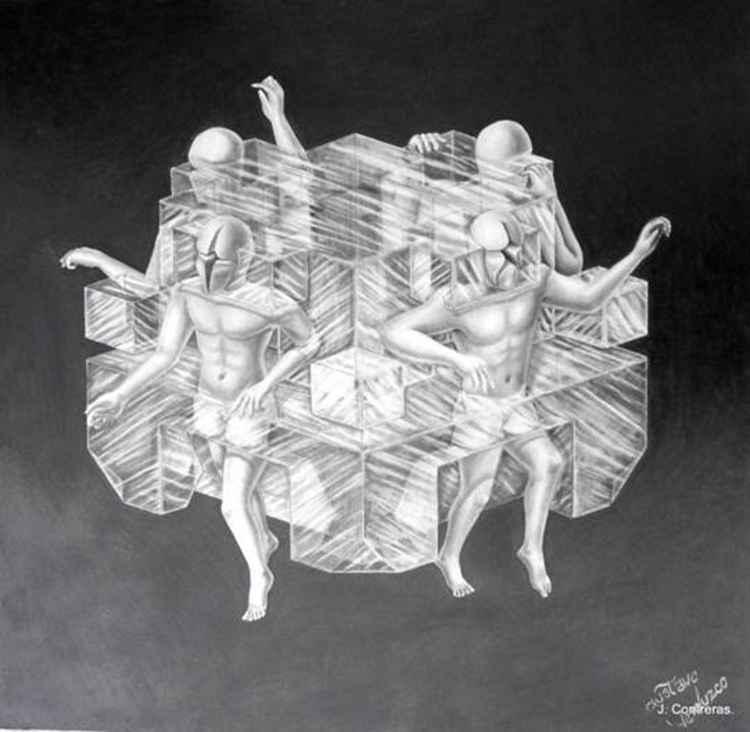 Men in Cube
