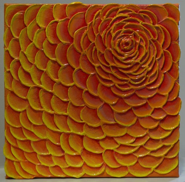 Orange Yellow Flower - Image 0