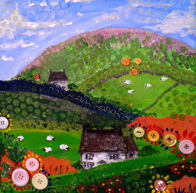 """Green hills 2"" - Image 0"