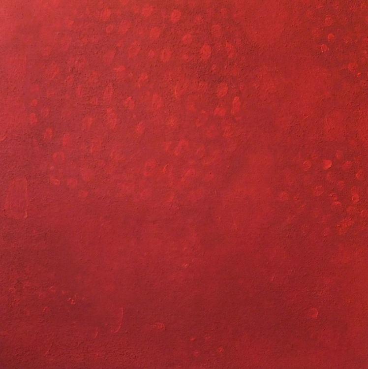"Original abstract ""Strawberry"" original painting - Image 0"