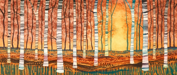 Silver Birch Autumn Gold - Image 0