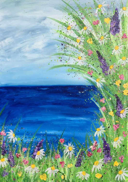 Blissful Meadows By The Sea - Image 0