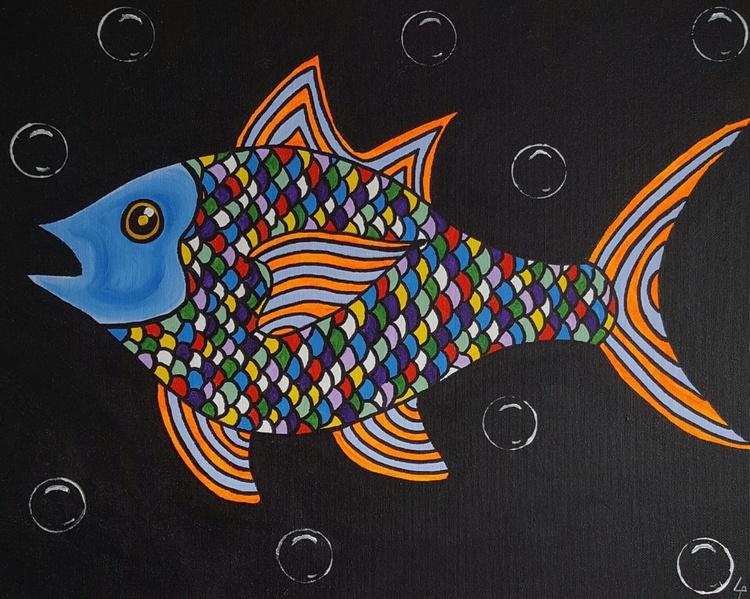 Abstract fish - Image 0