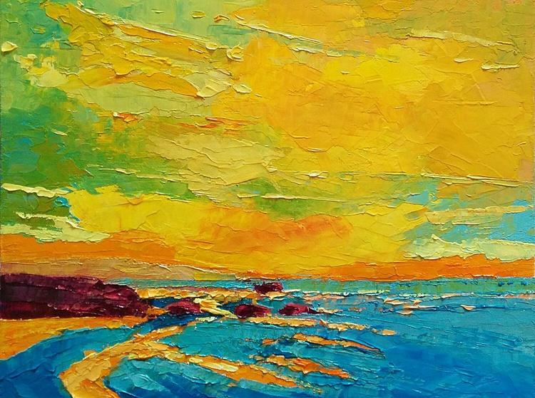 Molten Gold, sunrise landscape - Image 0