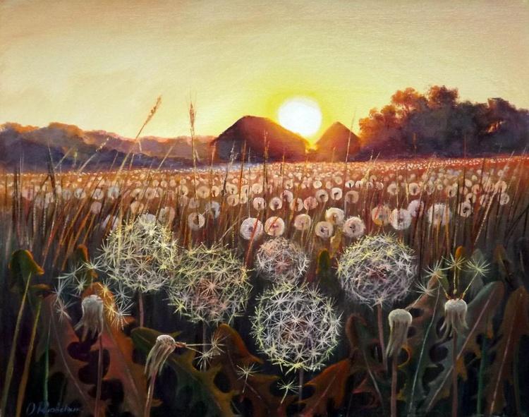 Field of Dandelions - Image 0