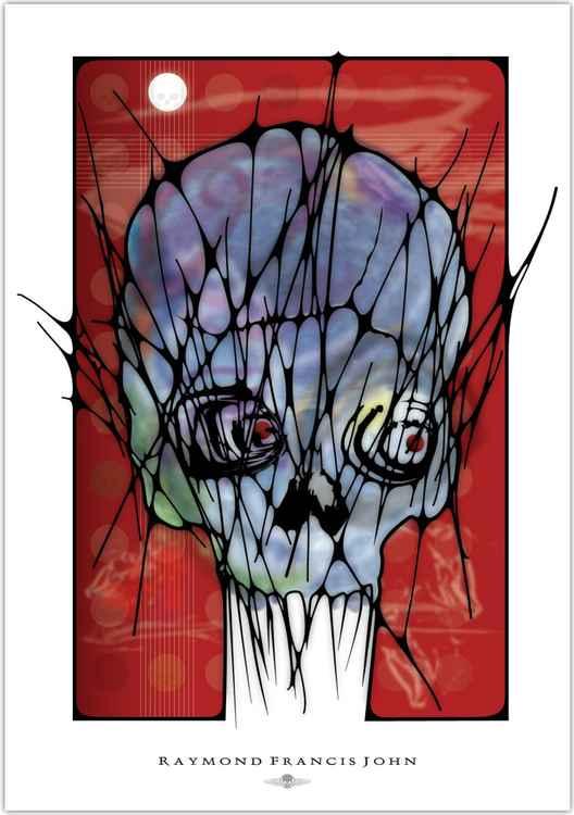 Blue Skull -