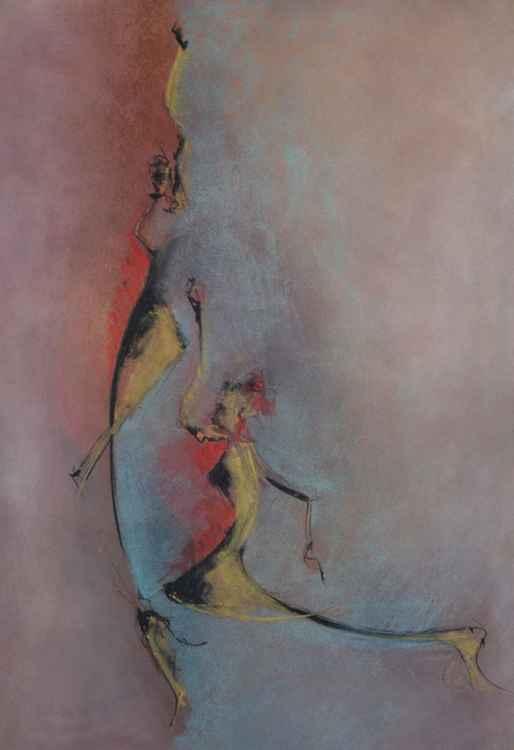 Dancing figures -