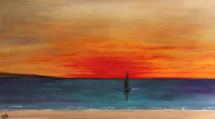 Crimson Sunset - Image 0