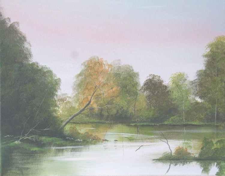 ballinahinch river autumn