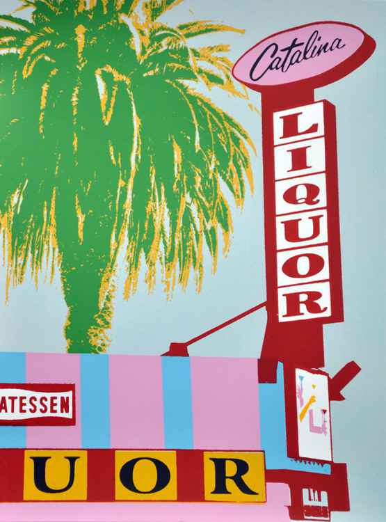 Los Angeles signs and palmtrees 16 -