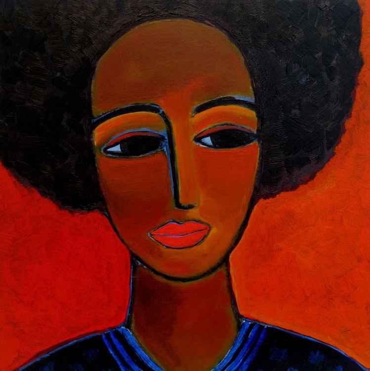 Black lady -