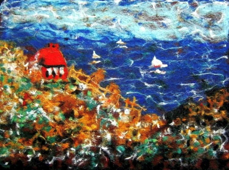 House on a hillside ART Protis .. - Image 0