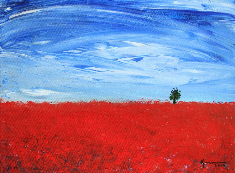 Red Poppy Field - Image 0