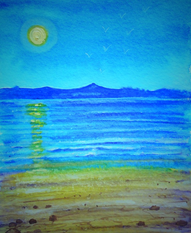 Yellow Moon (miniature) - Image 0