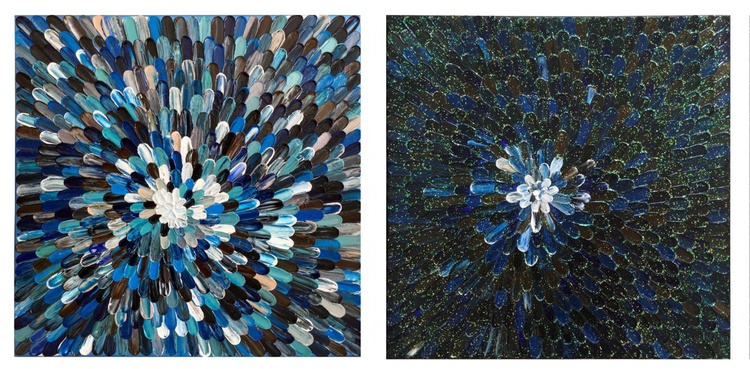 """Reserved for Lawrie. """"THE FORCE AWAKENS"""" (DIPTYCH) - Image 0"""