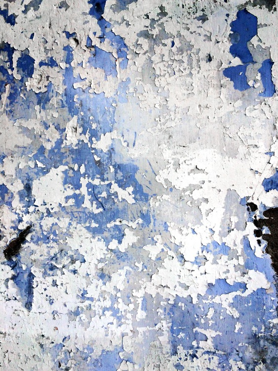 White On Blue - 1/25 - 16x12in Aluminium Mounted - Image 0