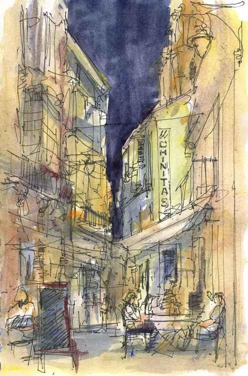 Malaga evening -