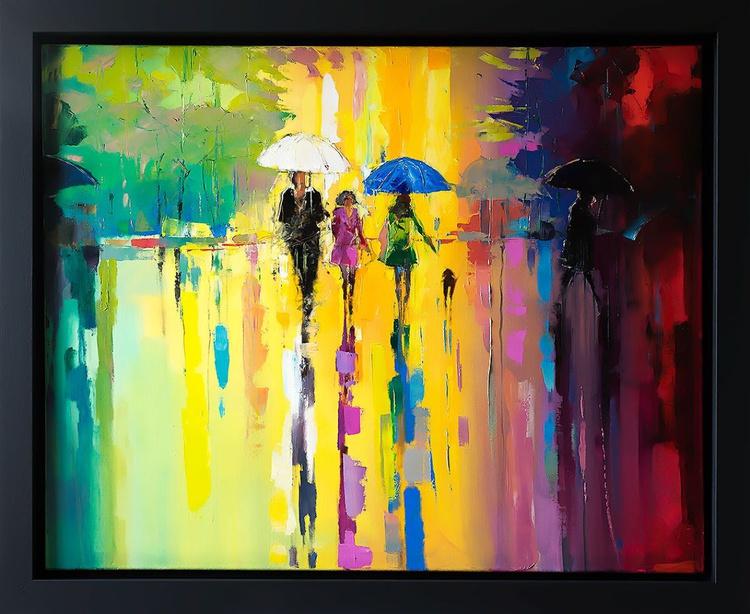 'Under Blue Umbrella' - Image 0