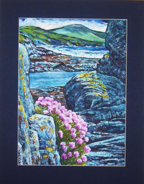 Sea Pinks at Niarbyl - Isle of Man - Image 0