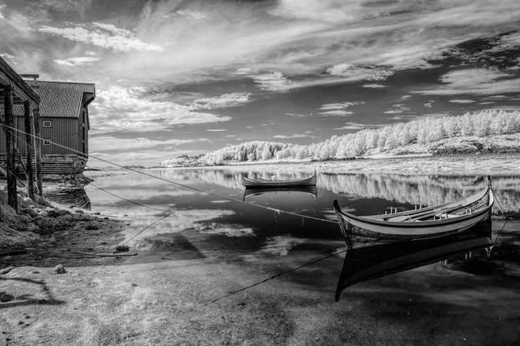 Anchored Boats IR