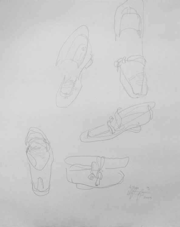 Study of a Shoe -