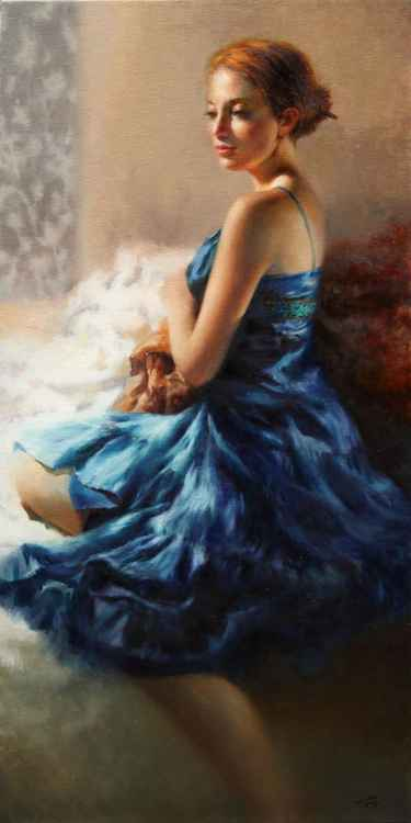 Lady in Sapphire -