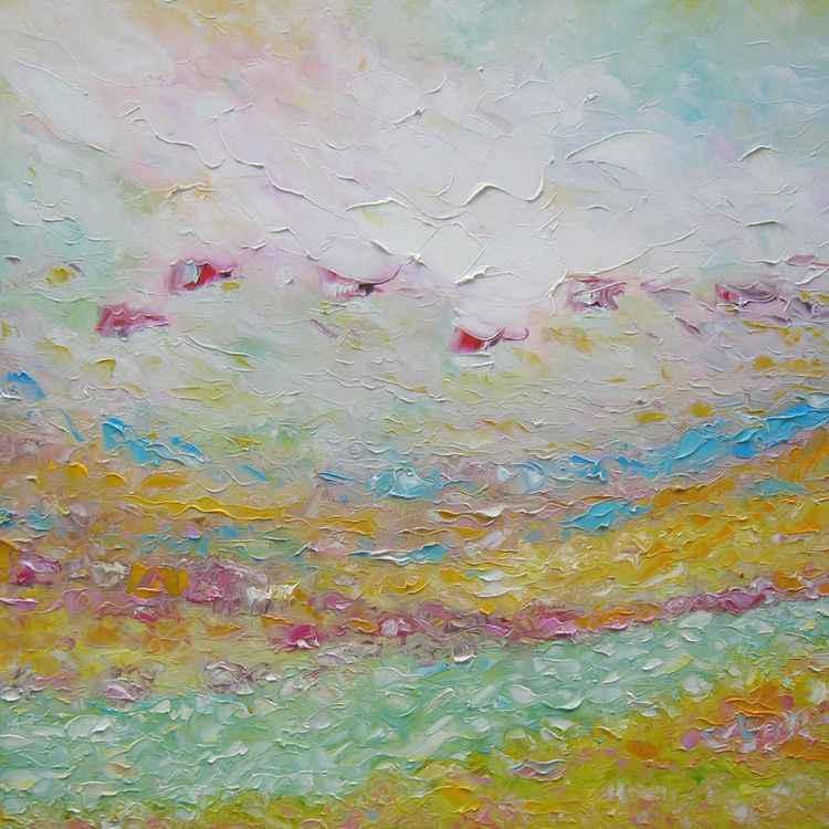 Pink fog -