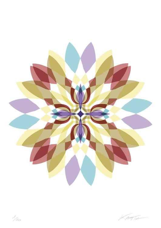 Psychedelic Flower II -
