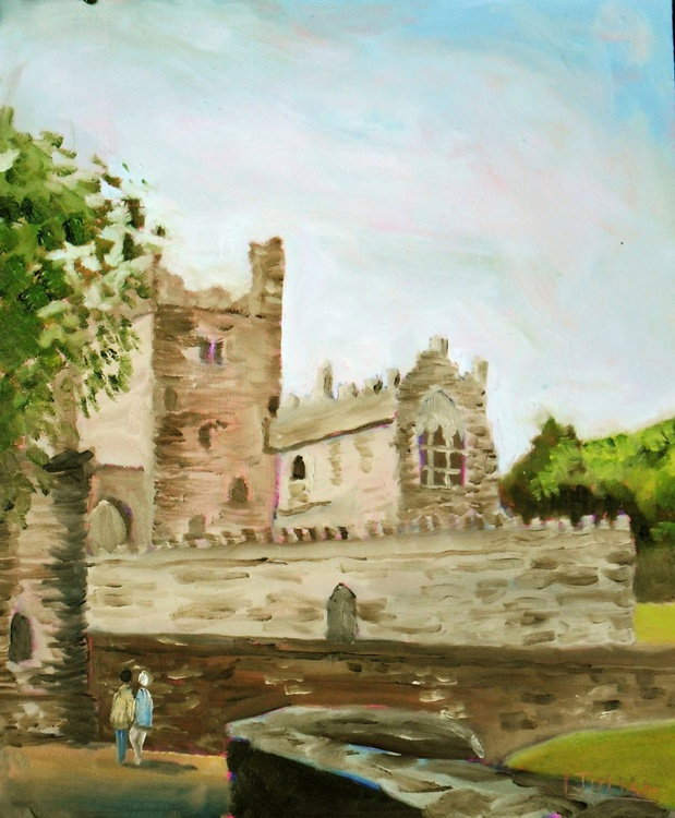 Tintern Abbey, Co Wexford, Ireland - Ancient stone buildings - Original - Image 0