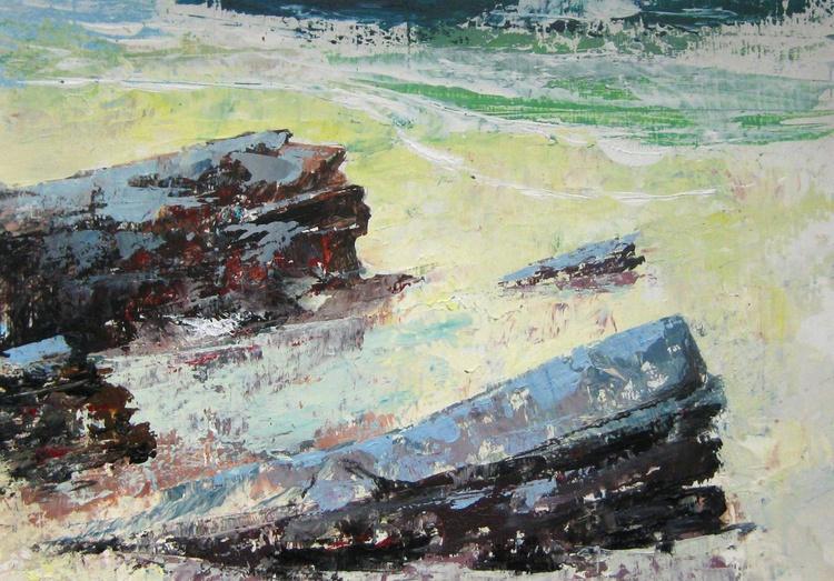 The Rocks of Scuthvie Bay - Image 0