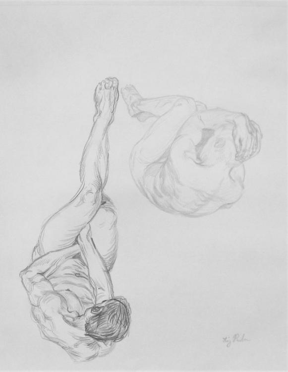 Study of a Male Figure - Image 0
